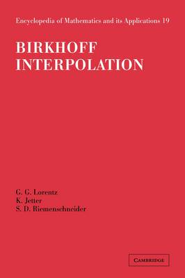 Birkhoff Interpolation