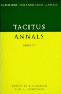 Tacitus: Annals Book IV: Bk. 4