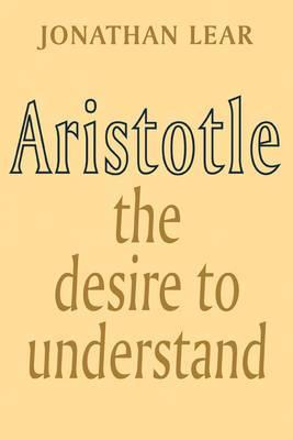 Aristotle: The Desire to Understand