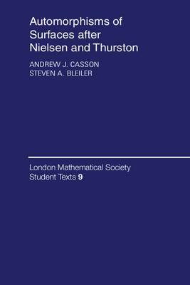 Automorphisms of Surfaces After Nielsen and Thurston
