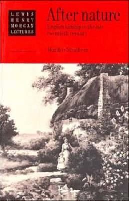 After Nature: English Kinship in the Late Twentieth Century