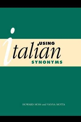 Using Italian Synonyms