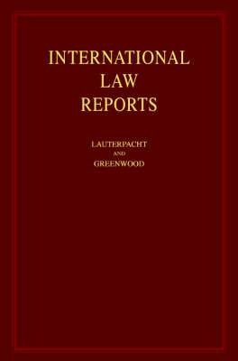 International Law Reports: v.99
