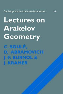 Lectures on Arakelov Geometry