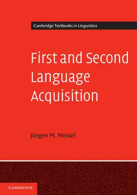First and Second Language Acquisition: Parallels and Differences