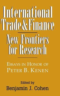International Trade and Finance: New Frontiers for Research
