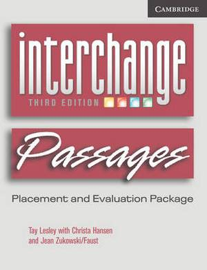 Interchange Passages Placement Evaluation Package