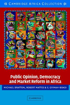 Public Opinion, Democracy and Market Reform in Africa African Edition