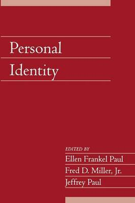 Social Philosophy and Policy: Volume 22 Personal Identity: Part 2