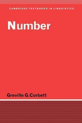 Cambridge Textbooks in Linguistics: Number