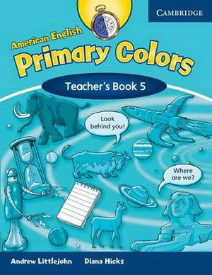American English Primary Colors 5 Teacher's Book: Level 5