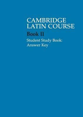 Cambridge Latin Course 2 Student Study Book Answer Key