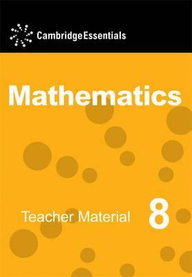 Cambridge Essentials Mathematics Year 8 Teacher Material CD-ROM