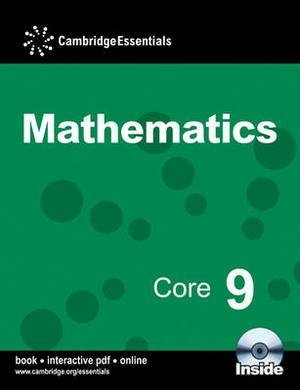 Cambridge Essentials Mathematics Core 9 Pupil's Book with CD-ROM