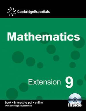 Cambridge Essentials Mathematics Extension 9 Pupil's Book with CD-ROM