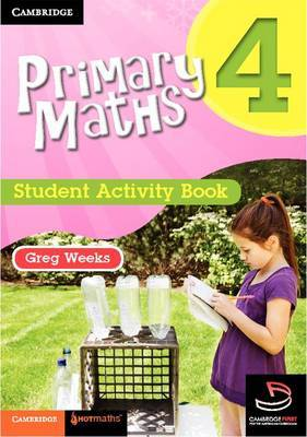 Primary Maths Student Activity Book 4: Bk. 4