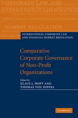 Comparative Corporate Governance of Non-Profit Organizations