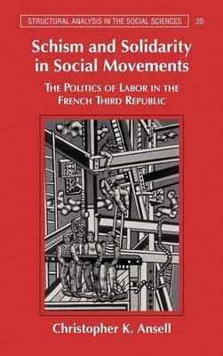 Schism and Solidarity in Social Movements: The Politics of Labor in the French Third Republic