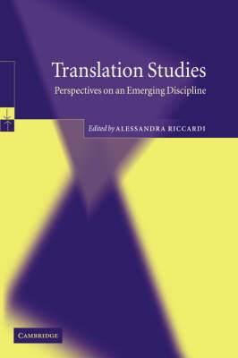 Translation Studies: Perspectives on an Emerging Discipline