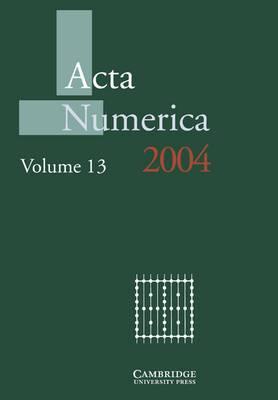 Acta Numerica 2004: Volume 13: 2004