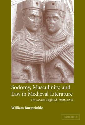 Sodomy, Masculinity and Law in Medieval Literature: France and England, 1050-1230