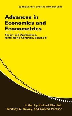 Advances in Economics and Econometrics: Theory and Applications, Ninth World Congress: v. 2