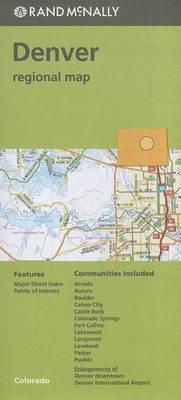 Folded Map Denver & Vicinity Co Regional