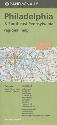 Folded Map Philadelphia/Se Pa Regional
