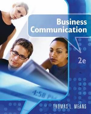 Business Communication: 2011