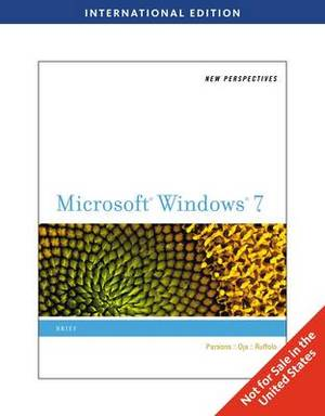 New Perspectives on Microsoft Windows 7: Brief