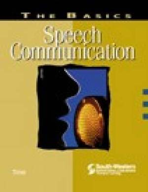 The Basics: Speech Communication