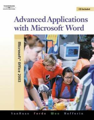 Advanced Applications with Microsoft Word