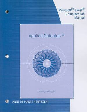 Microsoft Excel Computer Lab Manual for Applied Calculus