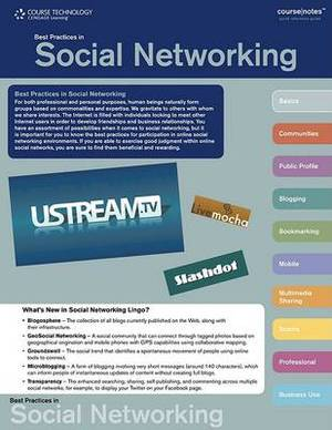 Best Practices in Social Networking Coursenotes