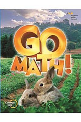 Go Math!: Student Edition Set Grade K 2015