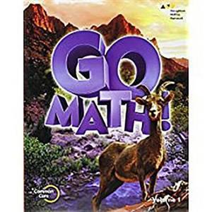 Go Math!: Student Edition Set Grade 6 2015
