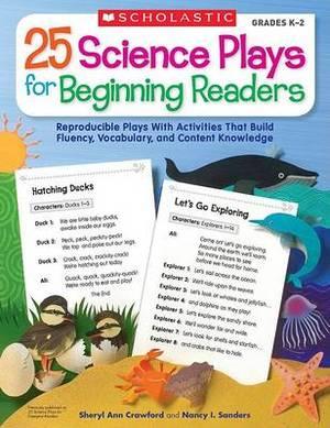 25 Science Plays for Beginning Readers: Grades 1-2