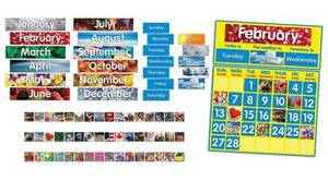 Photo Calendar Bulletin Board