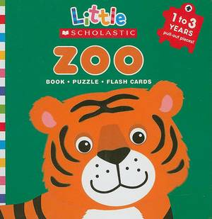 Zoo: Book, Puzzle, Flash Cards