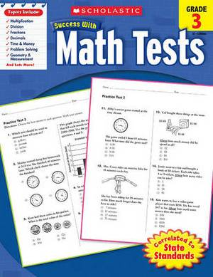 Success with Math Tests: Grade 3