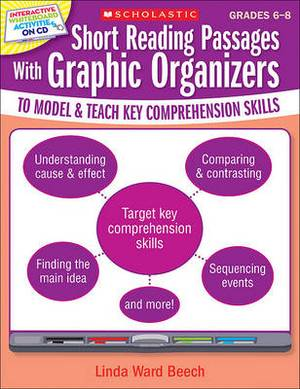 Short Reading Passages with Graphic Organizers to Model & Teach Key Comprehension Skills: Grades 6-8