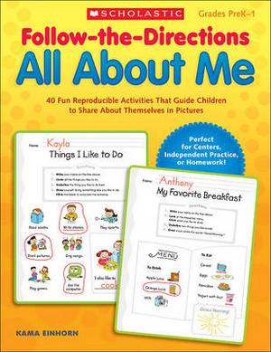 All about Me: 40 Fun Reproducible Activities That Guide Children to Share about Themselves in Pictures