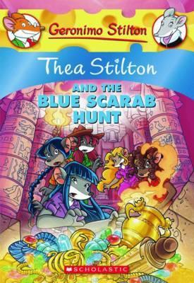 Thea Stilton: #11 Thea Stilton and the Blue Scarab Hunt