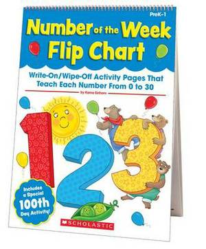 Number of the Week Flip Chart: Write-On/Wipe-Off Activity Pages That Teach Each Number from 0 to 10