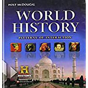 World History: Patterns of Interaction: Student Edition Survey 2012