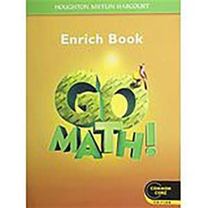 Go Math!: Student Enrichment Workbook Grade 5