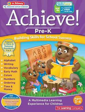 Achieve!: Pre-Kindergarten: Building Skills for School Success