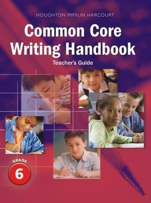 Journeys: Writing Handbook Teacher's Guide Grade 6