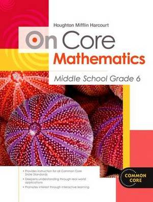 Hmh on Core Math: Reseller Package Middle School Grade 6