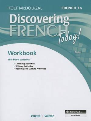 Discovering French Today!: French 1a